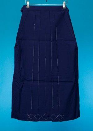 HA85-6女子袴レンタル(身長148-153)青紫 無地