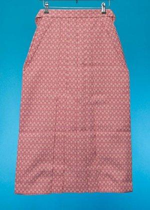HA85-16女子袴レンタル(身長148-153)紫 矢絣 矢羽根模様 [JAPAN STYLE] 【新品未使用】