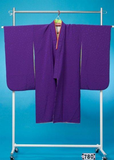 7-80女子7才七五三&卒園・入学着物(身長110-130cm) 紫