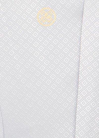 MP78-1トール紋付レンタル 裄78(身長185 胴回り74-104) 明るいシルバーグレー