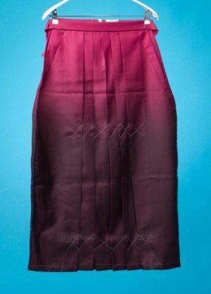 HA91-23女袴レンタル  (身長155-160cm前後 普通巾) ワインレッドぼかし