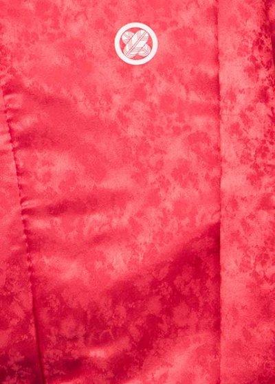 MP70-11紋付レンタル 裄70(身長165 胴回り74-104) 赤 朱色
