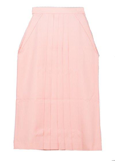 HA95-51女袴レンタル  (身長160-165前後 普通巾) ピンク系 ストライプ [LIZ LISA]【新品同様】