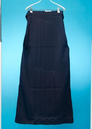 HA98-13トール女袴レンタル(身長163-168普通巾) 紺 無地