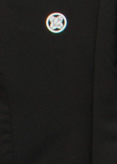 MP71-1ワイド黒紋付レンタル 裄71(身長165 胴回り80-110)黒【新品同様】