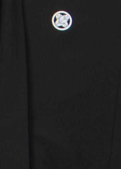 MP74-1黒紋付レンタル 裄74(身長175 胴回り74-104)【新品同様】