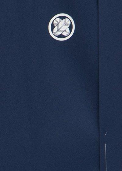 MP75-31紋付レンタル (裄75 身長175 胴回り75-105)青紺 【新品同様】