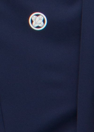 MP81-13トールワイド紋付レンタル 裄81(身長180-195 胴回り82-112)濃い紺色