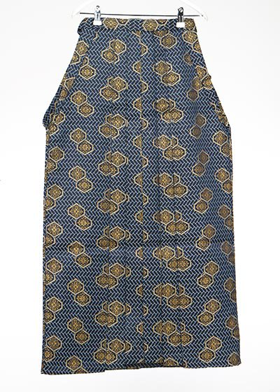 MH91-18男袴レンタル(身長170-175cm前後)紺に金の菊模様