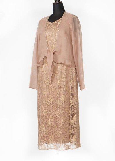 11号ゲストドレス ウエスト72cm  ゴールドベージュ  HD11-53
