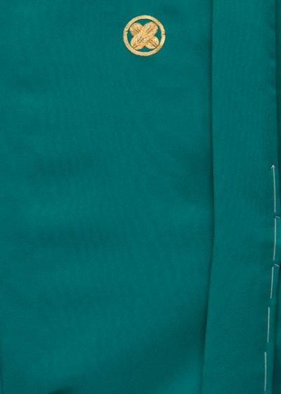 MP79-26トール紋付レンタル 裄79(身長185 胴回り76-106) グリーン