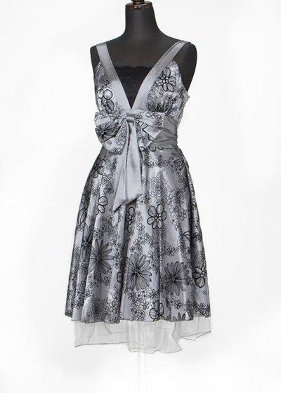 9号ゲストドレス  グレー系 シルバーグレー  HD9-160【新品未使用】