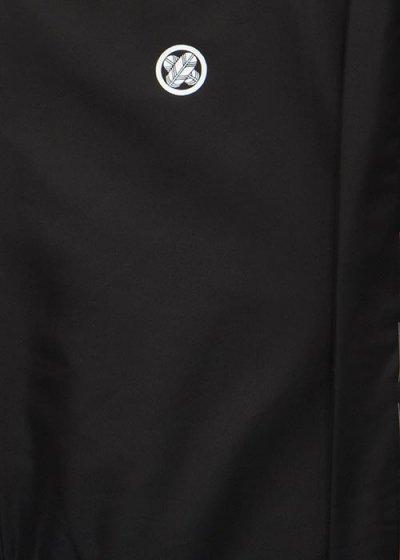 MP87-1トール超ワイド黒紋付レンタル裄87(身長195-205胴回り131-161) 特注サイズ【新品同様】