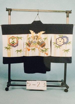 京5-23 5才前後 紋付レンタル