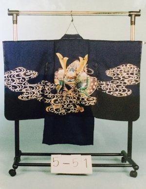 京5-51 5才前後 紋付レンタル