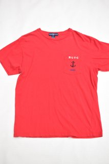 90s ポロ R.L.Y.C. ポケットTシャツ<BR>POLO RALPH LAUREN