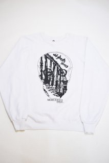 86s ヴィジョン オールドゴースト プリントスウェット<BR>VISION OLD GHOST SWEAT SHIRT