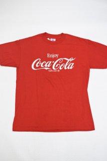 80s コカコーラ ロゴプリント Tシャツ<BR>COCA COLA LOGO PRINT T-SHIRT