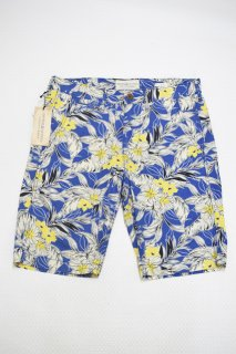デニム&サプライ ハワイアンショーツ (ブルー/NEW)<BR>DENIM & SUPPLY HAWAIIAN PRINTED SHORT PANT (BLUE/BRAND NEW)