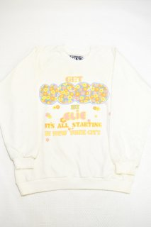 80-90s ゲットユーズド プリントスウェット (デッドストック)<BR>GET USED PRINT SWEAT SHIRT (DEAD STOCK)