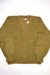 60s ヴィンテージ Vネック モヘアセーター<BR>VINTAGE V-NECK MOHAIR SWEATER
