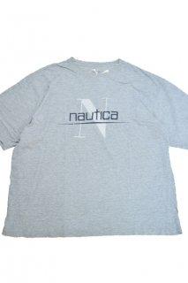 ノーチカ ロゴTシャツ (グレー)<BR>NAUTICA LOGO PRINT T-SHIRT (GRAY)