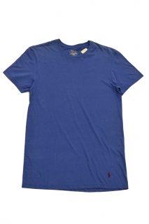 ポロ ラルフローレン ベーシックTシャツ (ダークブルー)<BR>POLO RALPH LAUREN BASIC T-SHIRT (DARK BLUE)