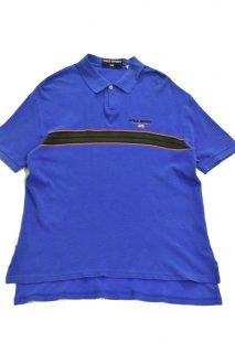 90s ポロスポーツ ポロシャツ (ブルー)<BR>POLO SPORT POLO SHIRT (BLUE)