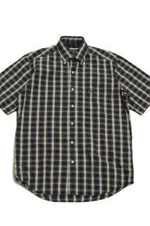 90s ゲス マドラスチェック ボタンダウンシャツ<BR>GUESS USA MADRAS PLAID B.D. S/S SHIRT