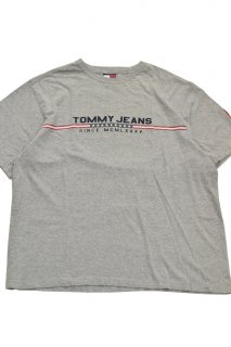 90s トミーヒルフィガー プリントTシャツ (D)<BR>TOMMY HILFIGER PRINT T-SHIRT (D)
