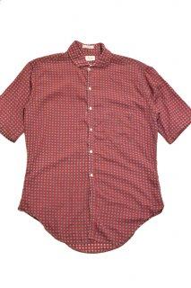 50-60s ペニーズ 総柄コットンシャツ<BR>VINTAGE PENNY'S ALL-OVER PRINT COTTON SHIRT