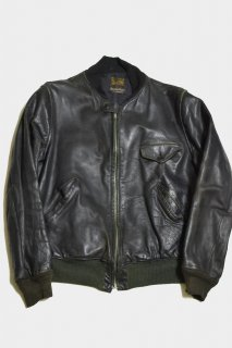 30-40s ヴィンテージ ホースハイド ボマージャケット<BR>VINTAGE HORSE HIDE BOMBER JACKET