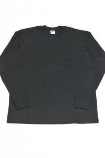 シュプリーム ブランクTシャツ(ブラック)<BR>Supreme  BLANK L/S T-SHIRT(BLACK)