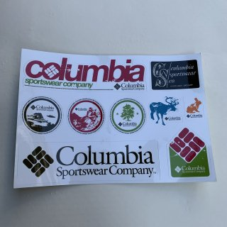 コロンビア ステッカー<BR>COLUMBIA STICKER