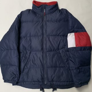 90s トミーヒルフィガー ダウンジャケット<BR>VINTAGE TOMMY HILFIGER DOWN JACKET