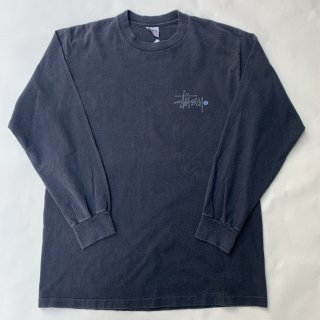 90s オールドステューシー  L/S Tシャツ<BR>OLD STUSSY L/S T-SHIRT VINTAGE