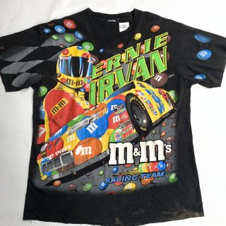 90s エムアンドエムズ レーシング Tシャツ<BR>90s VINTAGE M&Ms RACING T-SHIRT