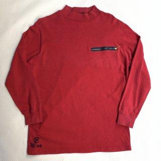 90s ポロ ラルフローレン 1993 ハイネック L/S Tシャツ<BR>90s VINTAGE POLO RALPH LAUREN 1993 Hi-NECK L/S T-SHIRT