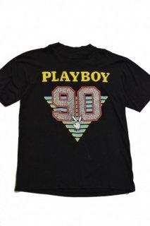 90s PLAYBOY PRINT T-SHIRT<BR>プレイボーイ プリント Tシャツ