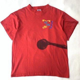 90s ナイキ ジョーダン プリントTシャツ<BR>90s NIKE JORDAN PRINT T-SHIRT