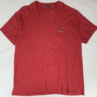 """""""セール対象外"""" 90s RLPH LAUREN POLO COUTRY POCKET T-SHIRT<BR>90s ラルフローレン ポロカントリー ポケットTシャツ"""