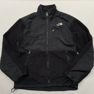 90s VINTAGE THE NORTH FACE DENALI JACKET(BLACK S)<BR>ヴィンテージ ノースフェイス デナリジャケット(ブラックS)