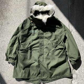 70s VINTAGE US ARMY M-65 PARKA FISH TAIL COAT<BR>ヴィンテージ アメリカ軍 M-65 パーカー フィッシュテール ミリタリー