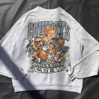 90s VINTAGE NFL DALLAS COWBOYS SWEAT  SHIRT<BR>ヴィンテージ NFL ダラス カウボーイズ スウェットシャツ