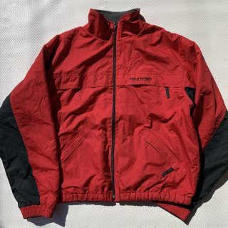 90s VINTAGE POLO SPORT NYLON JACKET(RED) <BR>ヴィンテージ ポロスポーツ ナイロンジャケット(レッド)