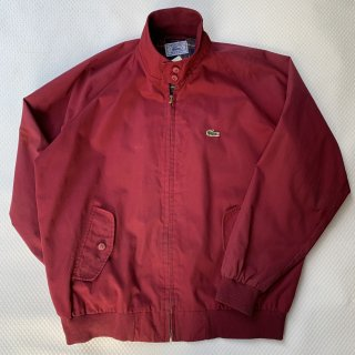 80s VINTAGE LACOSTE SWINGTOP (RED)<BR>ヴィンテージ ラコステ スウィングトップ (レッド)