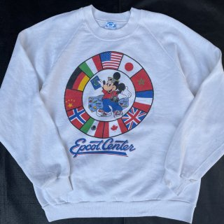 VINTAGE DISNEY MICKEY MOUSE PRINT SWEAT<BR>ヴィンテージ ディズニー ミッキーマウス プリントスウェット