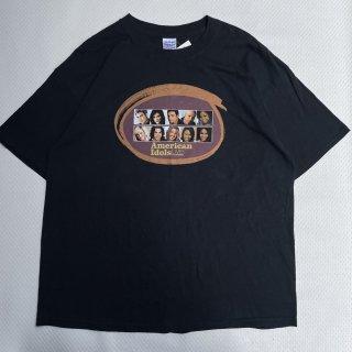 00s VINTAGE<BR>AMERICAN IDOLS<BR>TV T-SHIRT<BR>アメリカンアイドルズ<BR>テレビドラマ Tシャツ