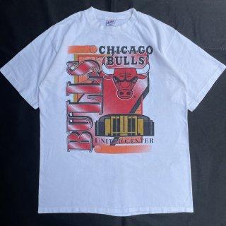 90s VINTAGE<BR>CHICAGO BULLS<BR> T-SHIRT<BR>シカゴブルズ<BR>プリント Tシャツ