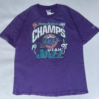 98s VINTAGE<BR>CHAMPION<BR>UTAH JAZZ NBA<BR>T-SHIRT<BR>98s チャンピオン<BR>ユタジャズ NBA<BR>Tシャツ